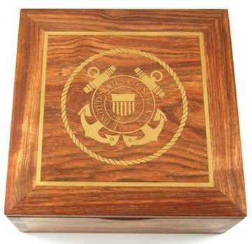 Coast Guard Rosewood Urn