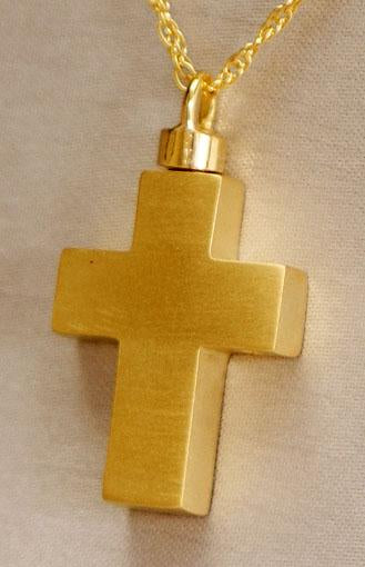 Medium Cross Keepsake Pendant