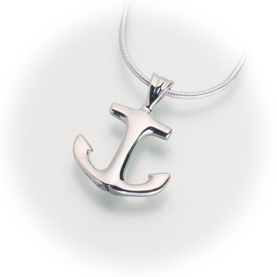 Anchor Keepsake Pendant
