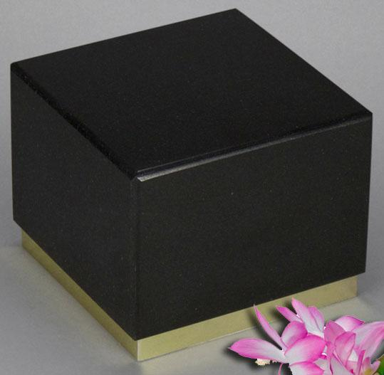 Innocence Black Granite Infant Urn