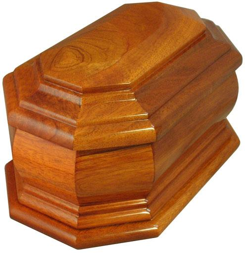 Devotion Wood Urn
