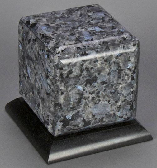 Simplicity Blue Pearl Granite Infant Urn