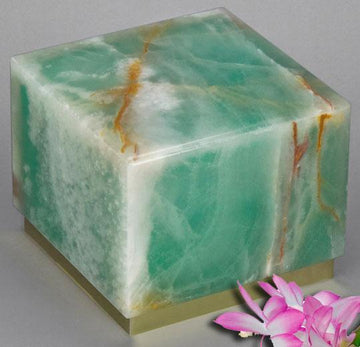 Innocence Green Onyx Infant Urn