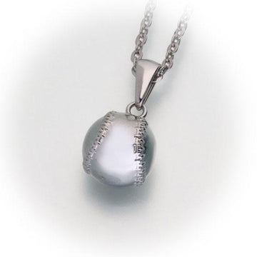 Baseball Cremation Pendant