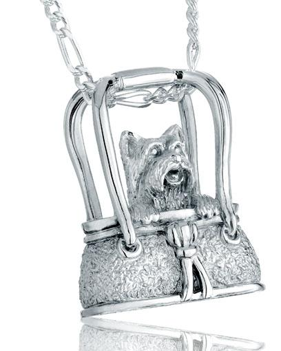 Terrier Purse Pet Cremation Jewelry
