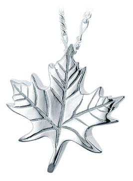 Maple Leaf Keepsake Pendant