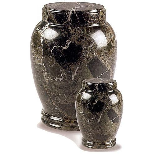 Green Marble Pet Urn II