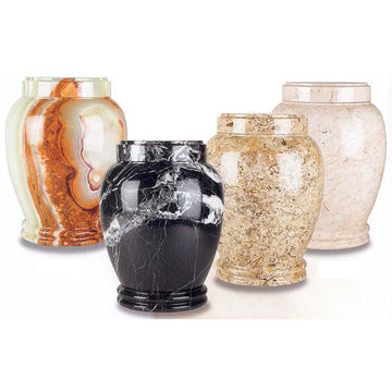 Plain Style II Marble Urns