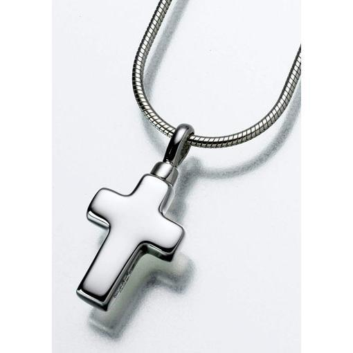 Small Cross Keepsake Pendant
