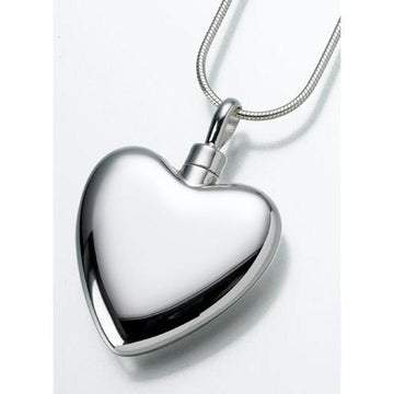 Large Heart Keepsake Pendant