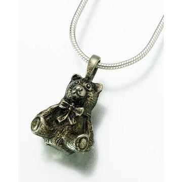 Teddy Bear Keepsake Pendant Urn
