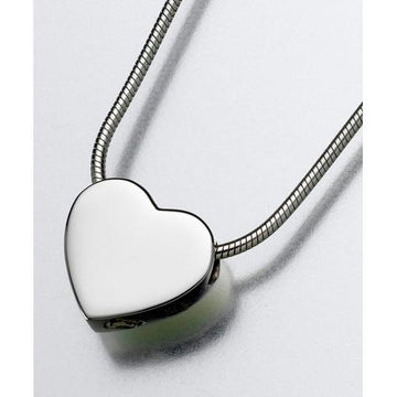 Slide Heart Keepsake Pendant