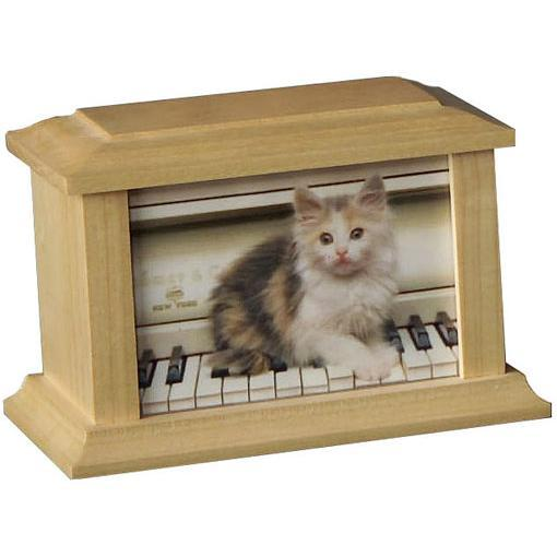 SP Wood Pet Urn Small