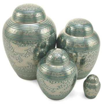 Going Home Solid Brass Pet Cremation Urn