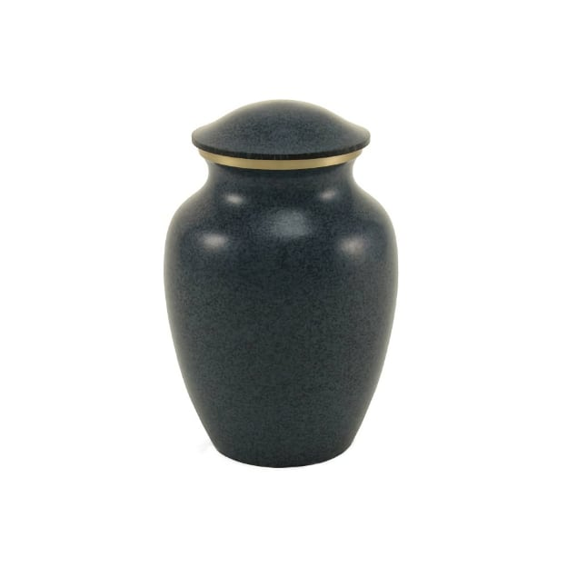 Granite Solid Brass Pet Urn