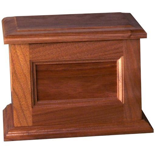 Stile & Rail Pet Wood Urns Large