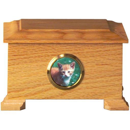 Regency Wood Pet Urn Small