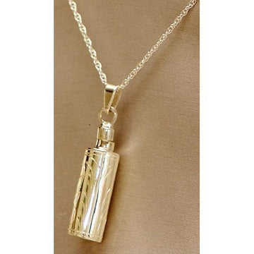 keepsake urn pendant necklace sterling silver or gold