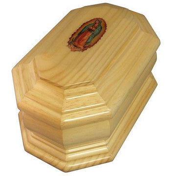 Guadalupe Wood Urn