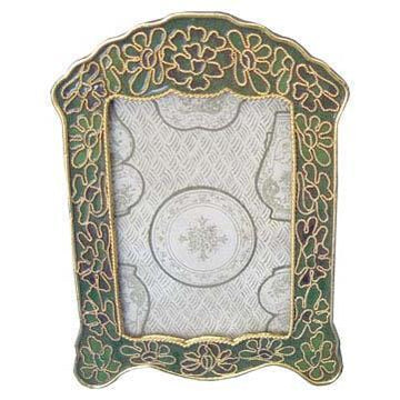 Pear Blossom Cloisonne Picture Frame