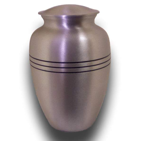 Classic Brushed Pewter Child Urn