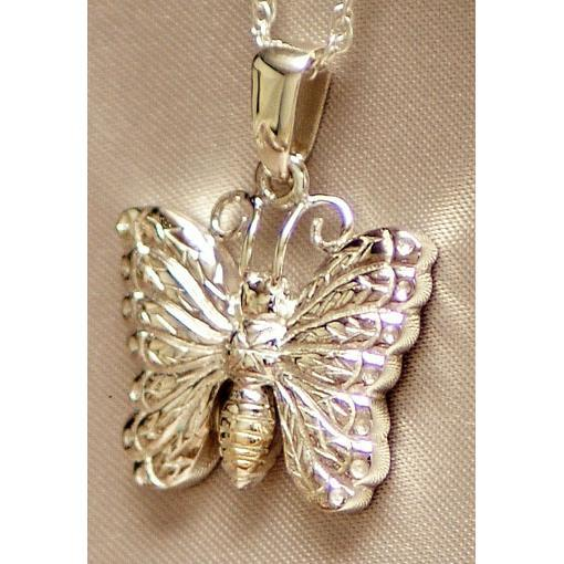 Butterfly Cremation Pendant