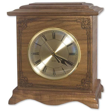 Renaissance Clock Urn with Art Carving