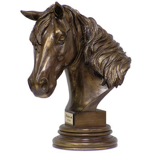 Horse Keepsake in Cold Cast Bronze