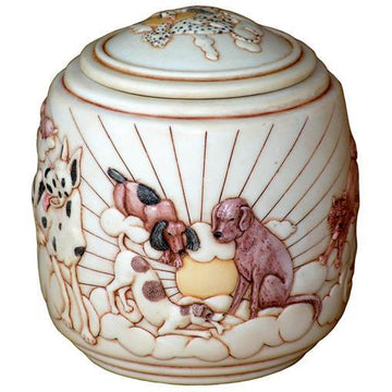 Good Day Sunshine - Cultured Marble Pet Urn