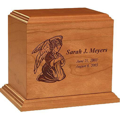Angel Personalized Cherry Infant Urn