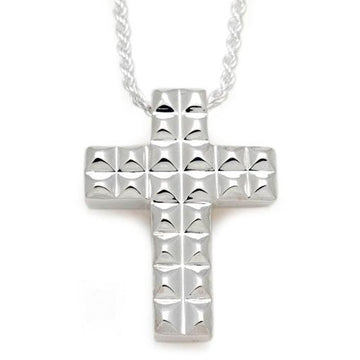 Pyramid Cross Pendant