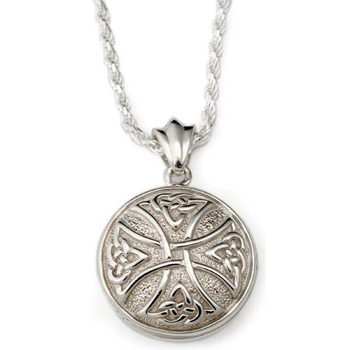 Round Celtic Cross Pendant