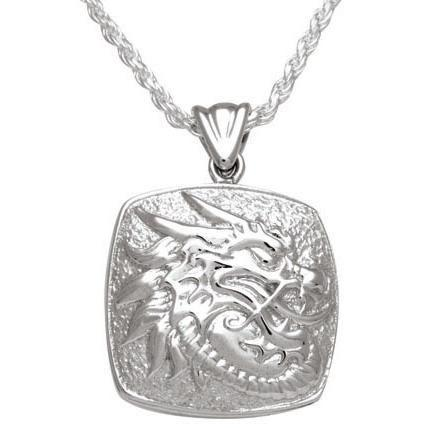 Cushion Dragon Keepsake Pendant