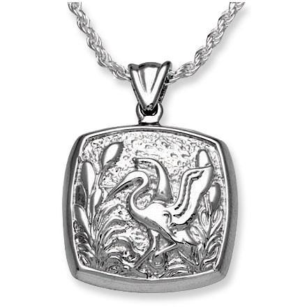 Cushion Stork Keepsake Pendant