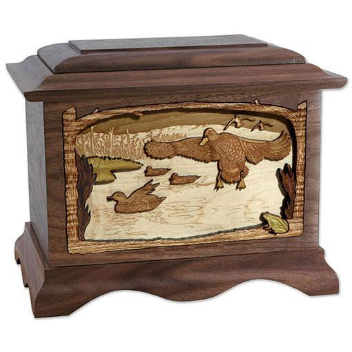 Marshland Melody Wood Urn