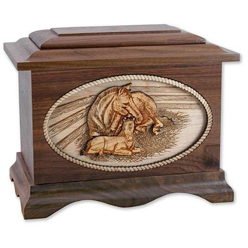 Mother's Love Wood Urn