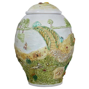 Rainbow Bridge Dog Urn Small