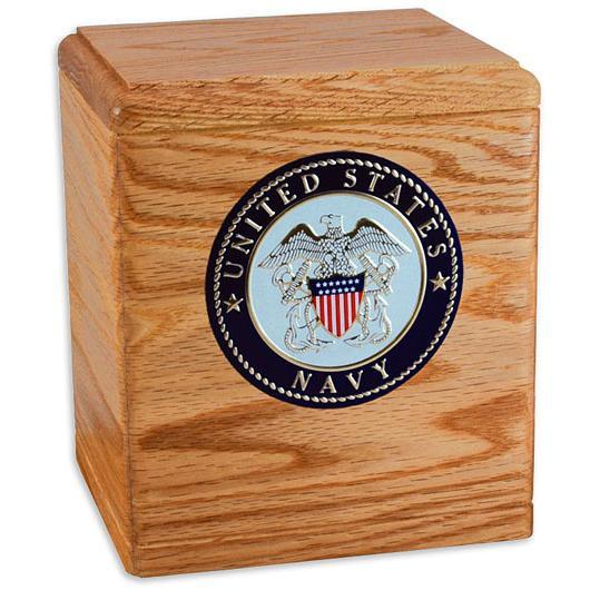 Freedom Wood Military Urn Oak