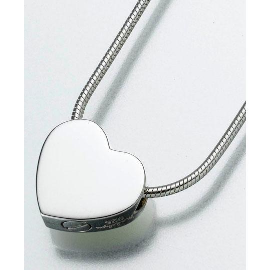 Double Chamber Heart Keepsake Pendant