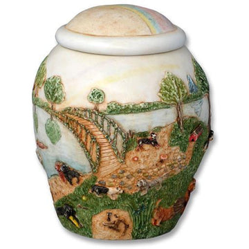 Rainbow Bridge Dog Pet Urn Large