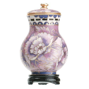 Purple Cloisonne Keepsake