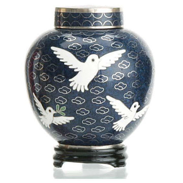 Dove Cloisonne Keepsake
