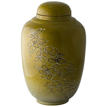 Meadow Hand Painted Urn