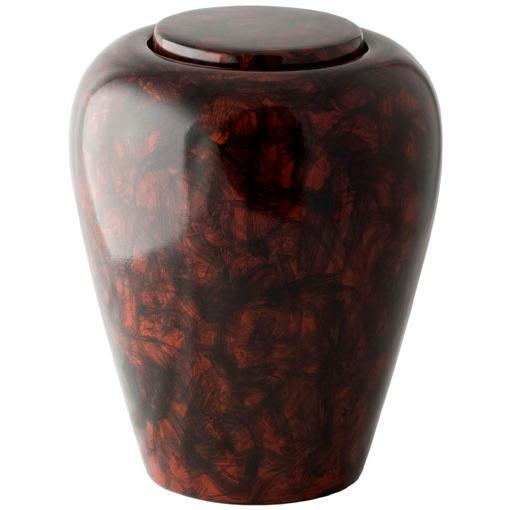 Hand Painted Soil Urn