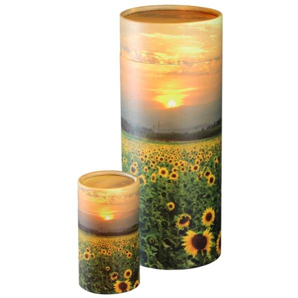 Sunflower Fields Scattering Tube