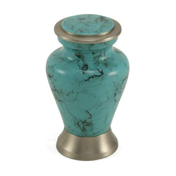 Blue Marble Metal Alloy Keepsake