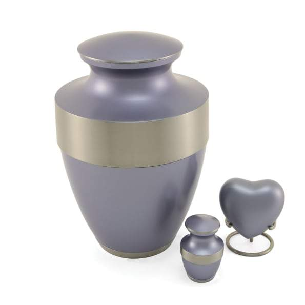 Lineas Starlight Blue Urn