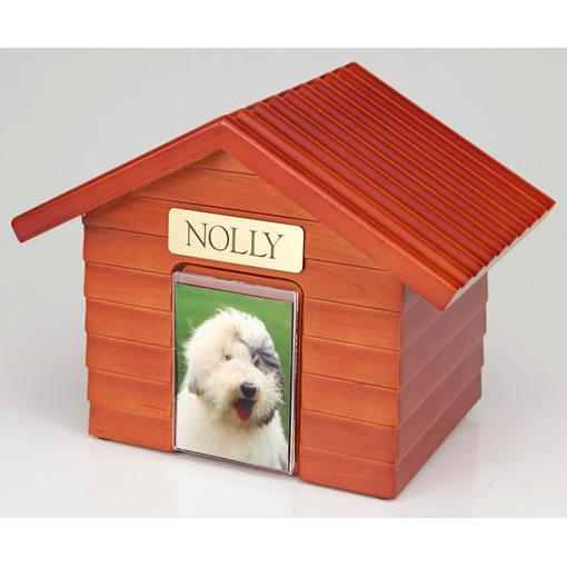 Pet Cottage Urn in Cherry