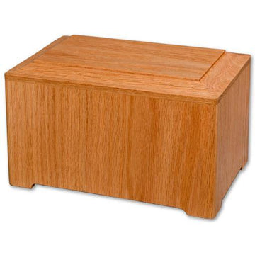 Simplicity Horizontal Wood Urn