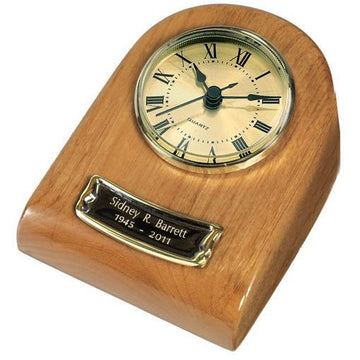 Naturale Mini Clock Wood Keepsake